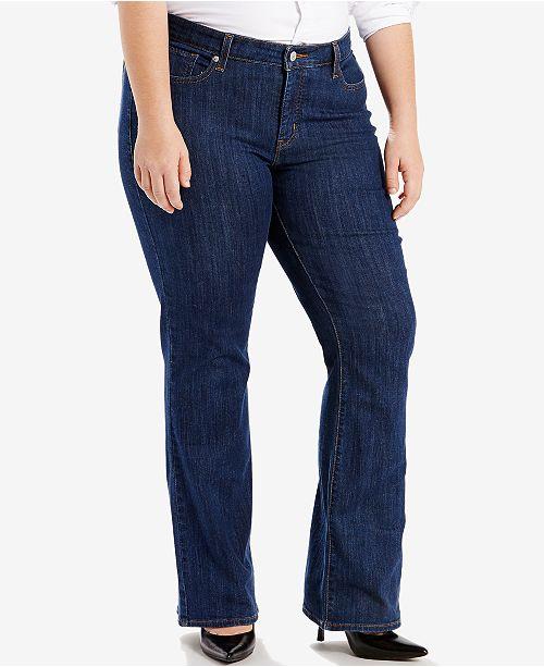 838407148b4 Levi s Plus Size Classic Bootcut Jeans   Reviews - Jeans - Plus ...