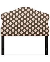 Mia Upholstered Headboard - Full/Queen, Quick Ship