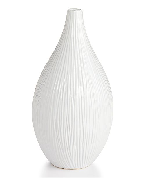 Home Design Studio Large Texture Vase, Created for Macy's