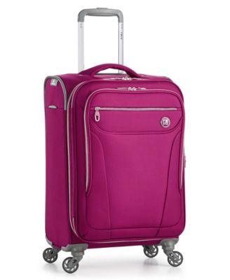 "Image of Revo City Lights 2.0 21"" Carry On Expandable Spinner Suitcase, Only at Macy's"