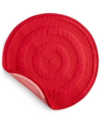 Scarlet Target Quilted Placemat