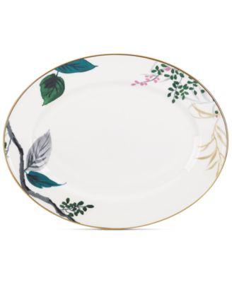 Birch Way Bone China Oval Platter
