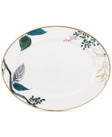 kate spade new york Birch Way Bone China Oval Platter
