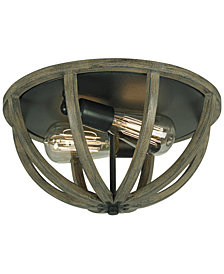 Feiss Allier 2-Light Flush Mount