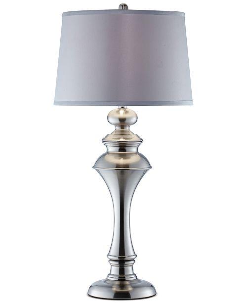 Kathy Ireland Pacific Coast Spun Metal Table Lamp, Created for Macy's