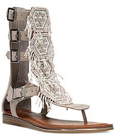 Carlos by Carlos Santana Taos Beaded Gladiator Sandals