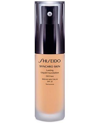 Shiseido Synchro Skin Lasting Liquid Foundation Makeup