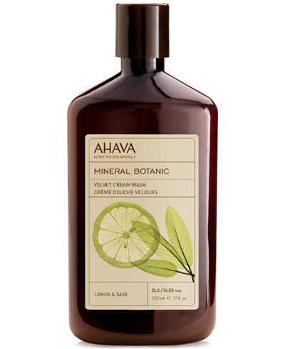 Ahava Mineral Botanic Velvet Cream Wash Lemon & Sage