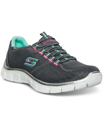 Skechers Womens Relaxed Fit Sport Empire  Rock Around Walking Sneakers  from Finish Line