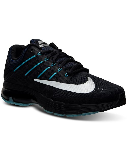 sale retailer 57486 e290c ... Nike Mens Air Max Excellerate 4 Premium Running Sneakers from Finish  ...