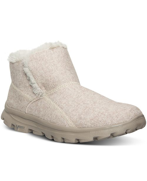 Skechers Women s GOwalk Move - Arctic Boots from Finish Line ... 7b460dd750