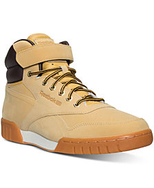 Reebok Men's ExoFit Plus HI Winter Casual Sneakers from Finish Line