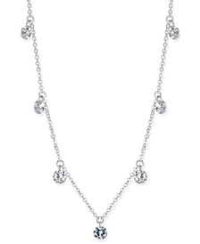 INC Cubic Zirconia Crystal Drop Necklace, Created for Macy's
