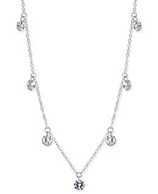 I.N.C. Crystal Drop Necklace, Created for Macy's