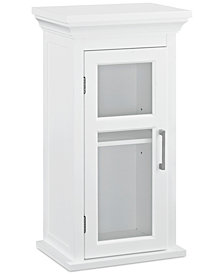 Hayde Single Door Wall Cabinet, Quick Ship