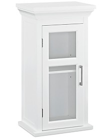 Hayde Single Door Wall Cabinet, Quick Ship