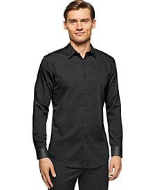 Calvin Klein Brunswick Slim-Fit Long-Sleeve Shirt