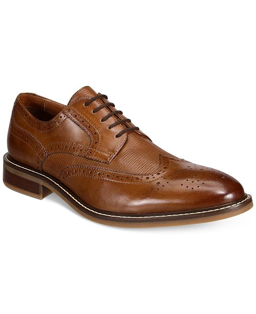 Alfani Men's Tyler Wingtip Derby Oxford, Created for Macy's
