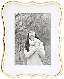 "Crown Point Collection Gold-Plated 5"" x 7"" Frame"