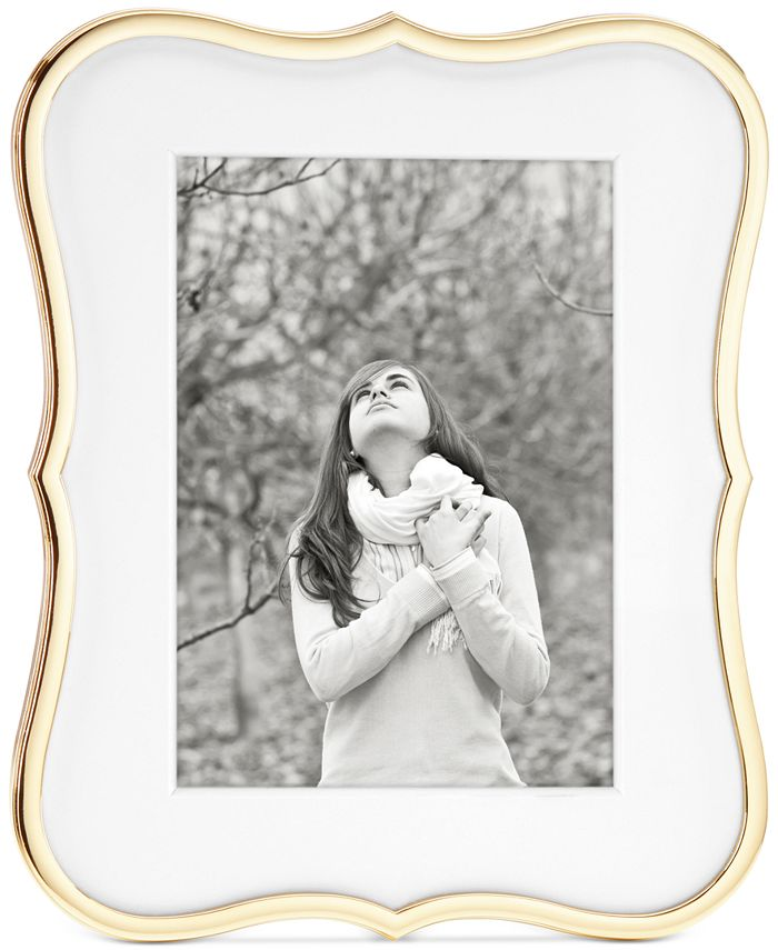 """Kate Spade - Crown Point Collection Gold-Plated 5"""" x 7"""" Frame"""