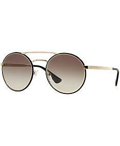 05ae0c784b49 Prada Sunglasses For Women - Macy's