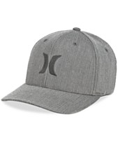 5e92935a Hurley Men's One And Only Texture Flexfit Logo Hat
