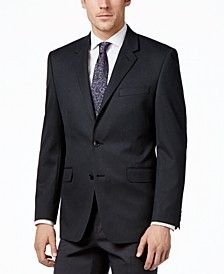Men's Traveler Solid Big and Tall Classic-Fit Jacket, Created for Macy's