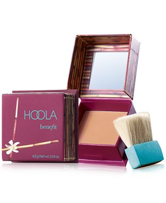 Wake Up Your Makeup Routine; Benefit bronzer
