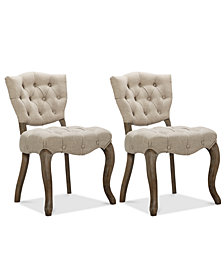 Emmond Set of 2 Dining Chairs, Quick Ship