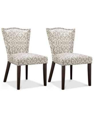 Kerbi Set Of 2 Dining Chairs, Quick Ship