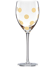 kate spade new york Pearl Place Collection Goblet