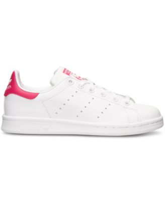 adidas Big Girls\u0027 Stan Smith Casual Sneakers from Finish Line - Finish Line  Athletic Shoes - Kids \u0026 Baby - Macy\u0027s