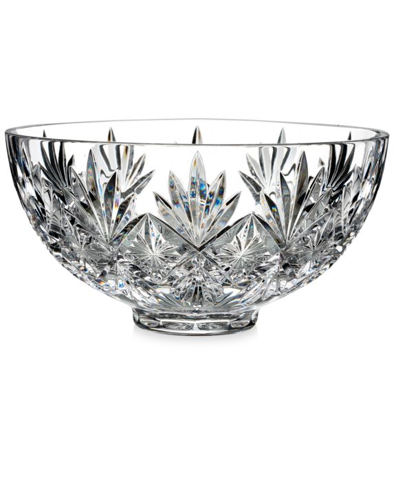 CLOSEOUT! Waterford Normandy Bowl, Size: 9