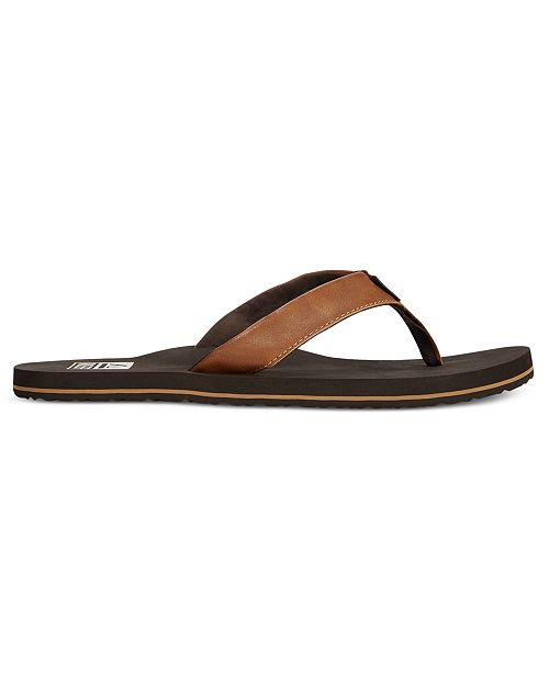 efb6b54d7 REEF Men s Twinpin Sandals   Reviews - All Men s Shoes - Men - Macy s