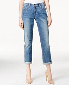 Vintage America Released Hem Boyfriend Jeans
