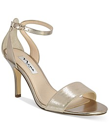 Venetia Ankle-Strap Evening Sandals