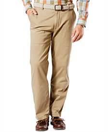 Dockers Men's Classic Fit Washed Khaki Stretch Pants D3