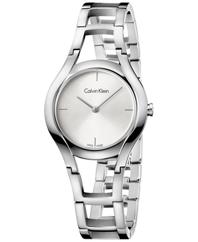 Calvin Klein class Women's Swiss Class Stainless Steel Bracelet Watch 32mm K6R23126