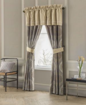 """Waterford Marcello 18"""" x 50"""" Window Valance Bedding 2695736"""