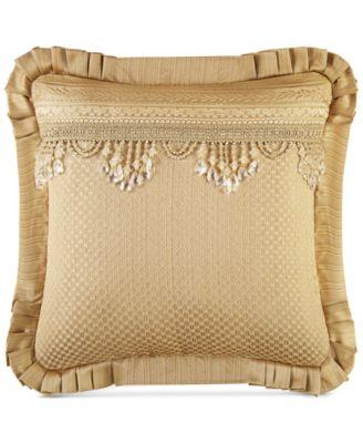 """Napoleon Gold  20"""" Square Decorative Pillow"""