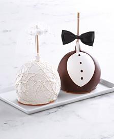 Mrs. Prindables Bride & Groom Jumbo Apple 2-Pack