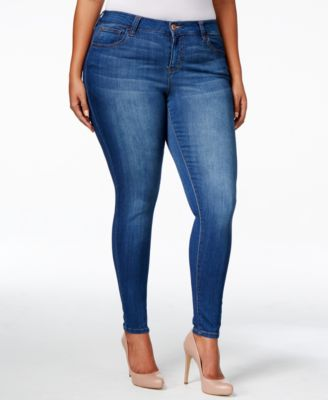 Celebrity Pink Petite Plus Size Super-Soft Walker Skinny Jeans ...