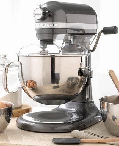 Kitchenaid Kp26m1x Professional 600 6 Qt Stand Mixer Electrics Kitchen Macy 39 S