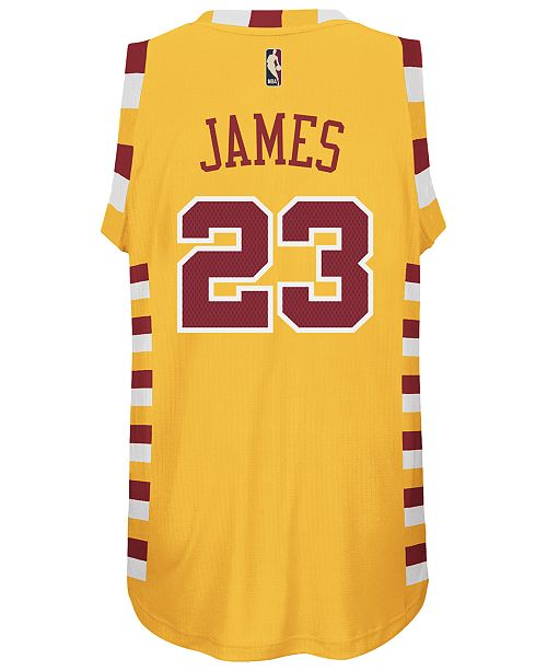 huge selection of 0b03e b7def adidas LeBron James Cleveland Cavaliers Swingman Hardwood ...