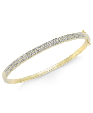 Diamond Pave Bangle Bracelet...