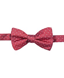 Men's Fairfax Pindot Pre-Tied Bow Tie, Created for Macy's