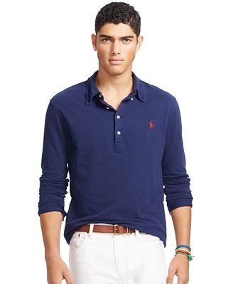 Polo Ralph Lauren Men's Featherweight Mesh Polo Shirt