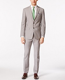 Solid Men's Classic-Fit Suit Separates