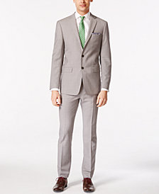 Calvin Klein Solid Men's Classic-Fit Suit Separates