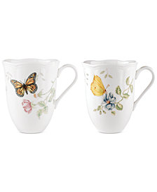Lenox 2-Pc. Butterfly Meadow Mugs